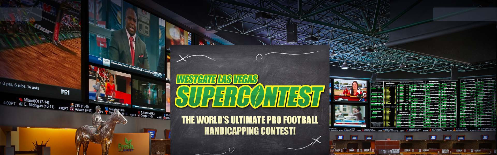SuperContest - Westgate is Football Central! | Westgate Las Vegas Resort & Casino