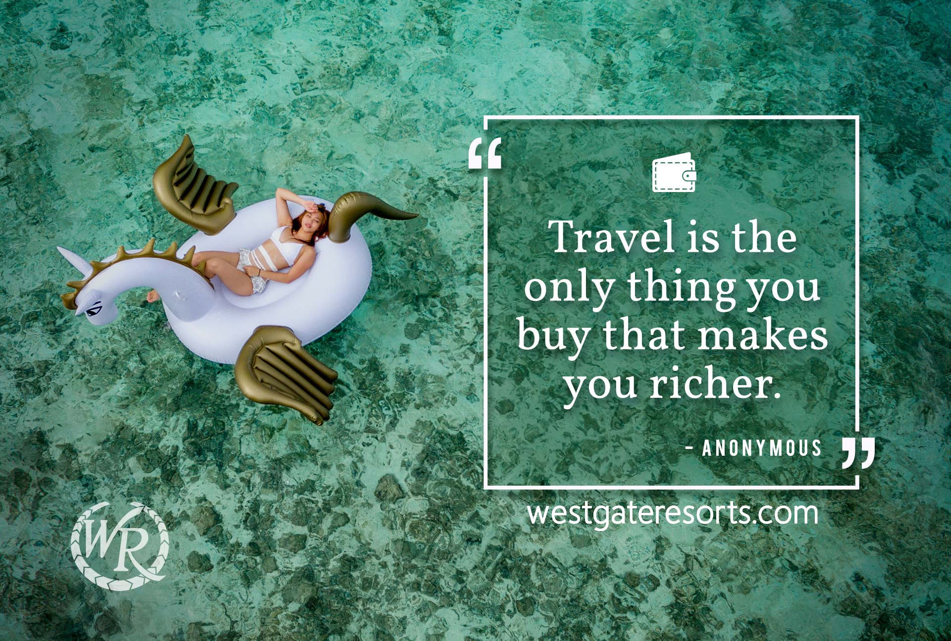 Travel is the only thing you buy that makes you richer. | Travel Motivation Quotes | Inspiring Sayings