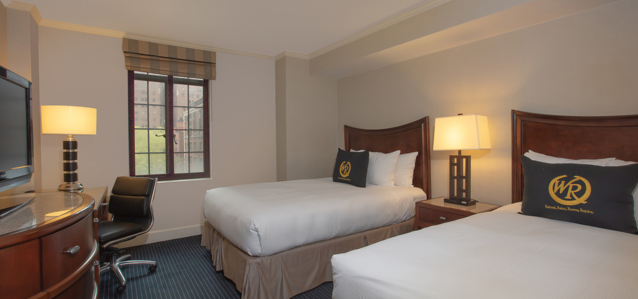 Signature Two Double Balcony Guestroom | Westgate New York City | New York Hotel Rooms
