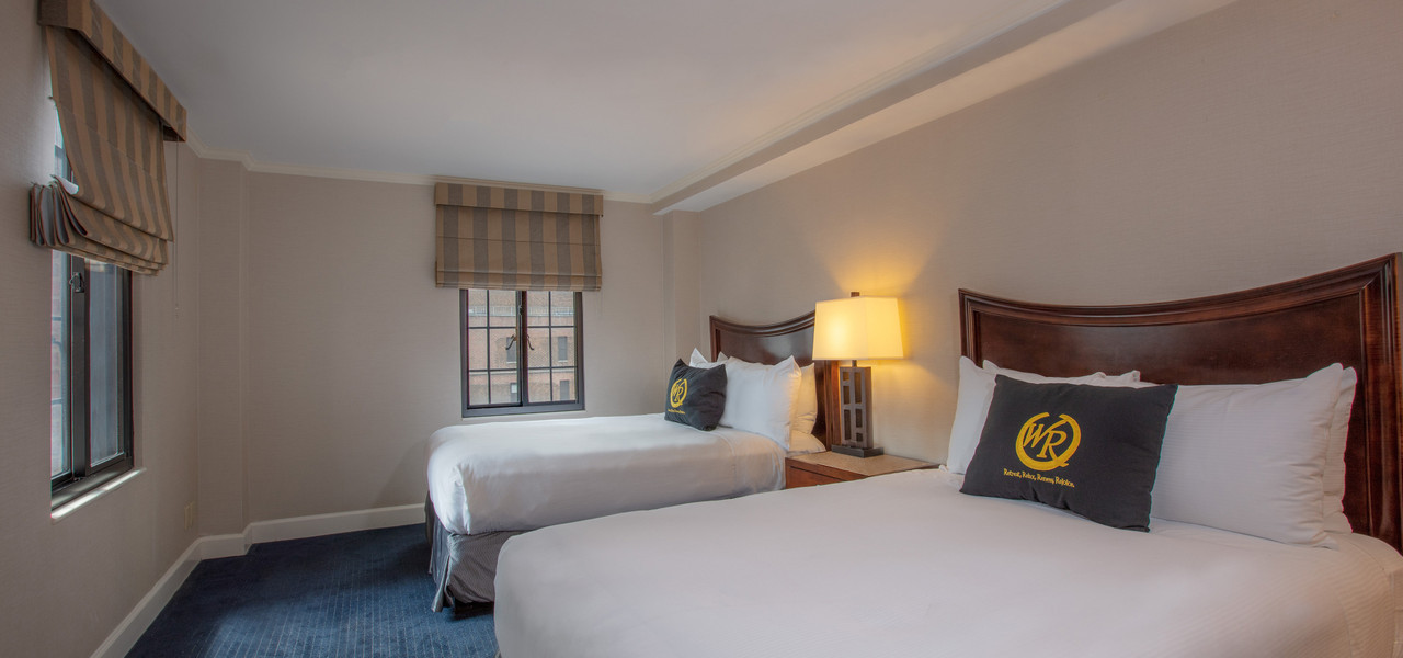 Two Beds Hotel Rooms in NYC | Westgate New York Grand Central Hotel | New York City Hotel Suites for Families