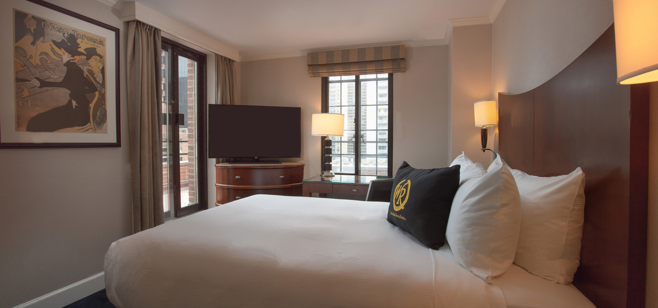 Queen Bedroom Hotel Near Grand Central Terminal New York | Westgate New York Grand Central Hotel