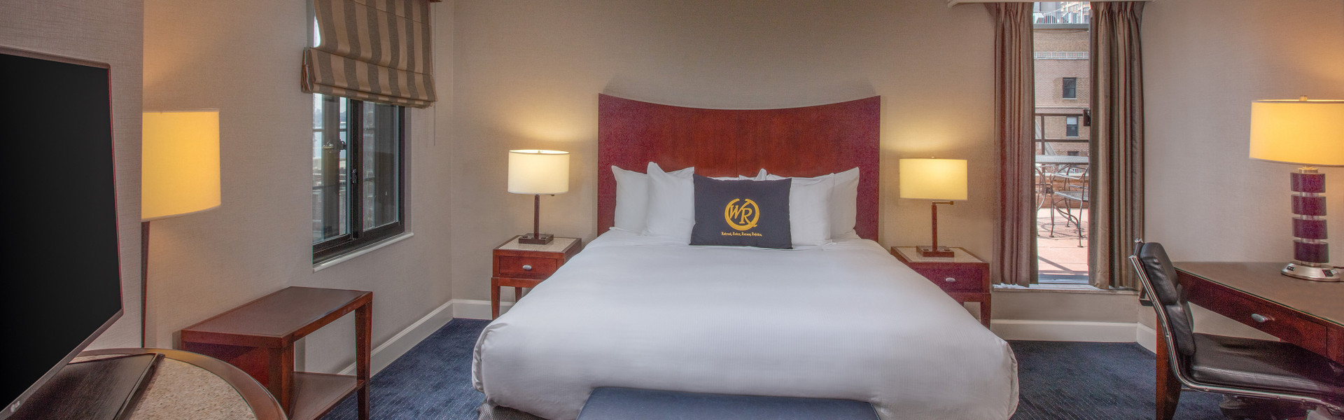 King Balcony Suite in NYC | Westgate New York Grand Central Hotel | Hotel Rooms Near Grand Central Station