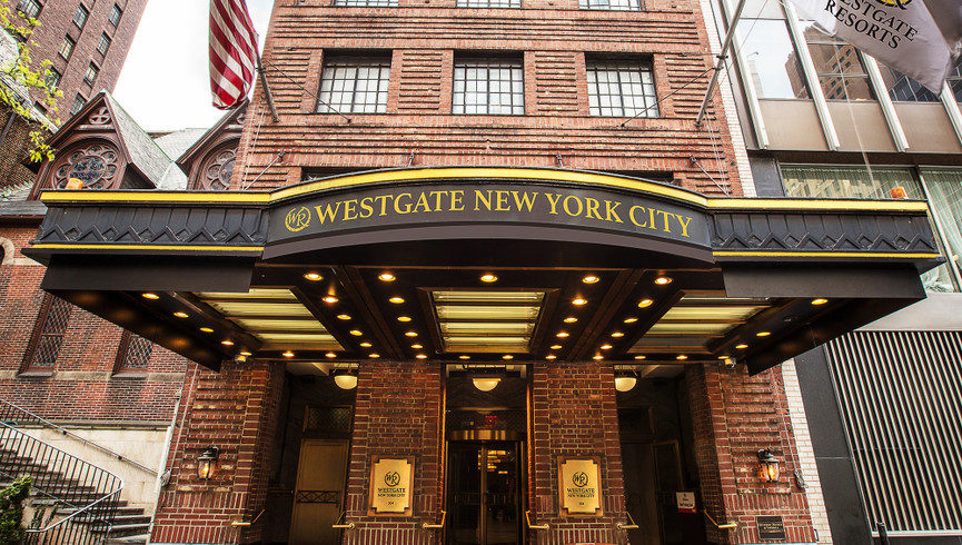 Exterior our Hotel Near Midtown East | Westgate New York City | The Best Midtown NYC Hotel