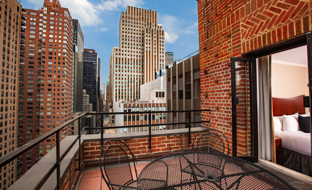 Balcony View From Westgate New York City Hotel | City View Hotels Near Midtown Manhattan East in NYC