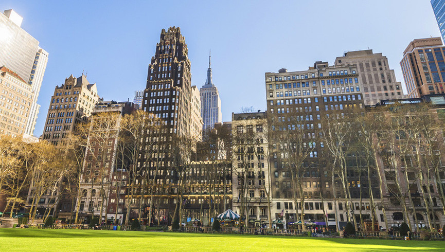 Bryant Park is near a Hotel Close To Grand Central Station | Westgate New York Grand Central