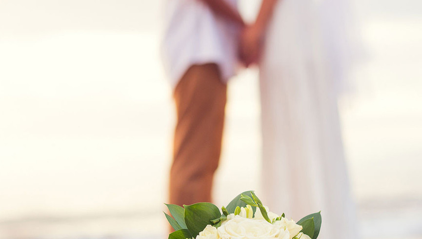 A wedding package scene featuring one of our Myrtle Beach wedding packages hotel offerings.
