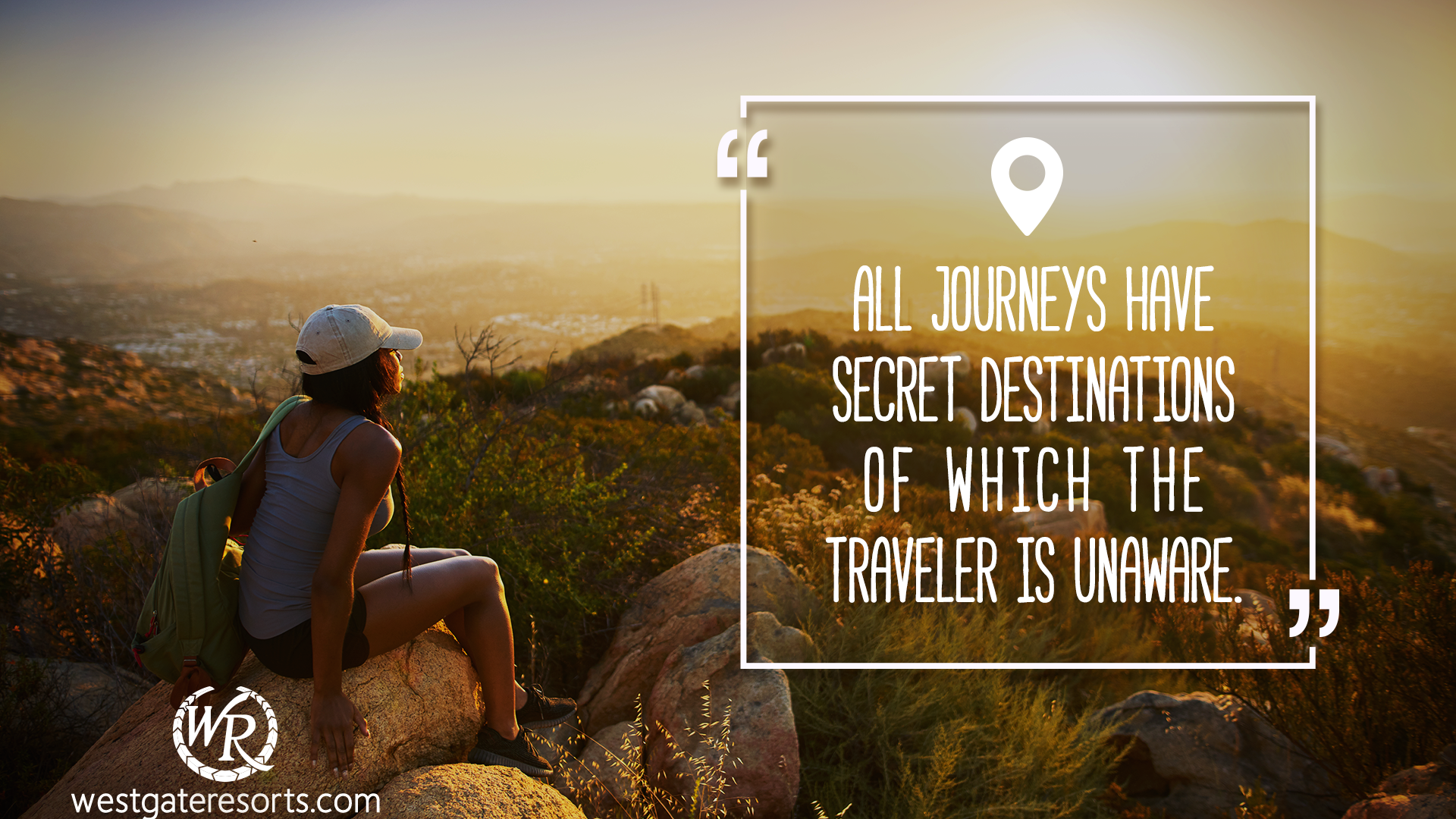 All Journeys Have Secret Destinations Of Which The Traveler Is