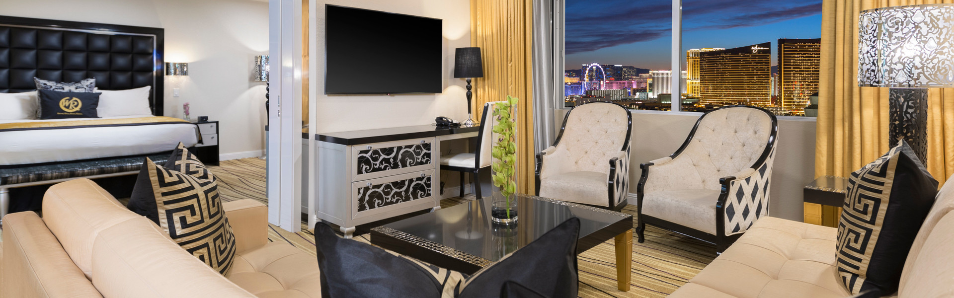 Luxury Las Vegas Hotel Suite At Westgate Las Vegas Resort