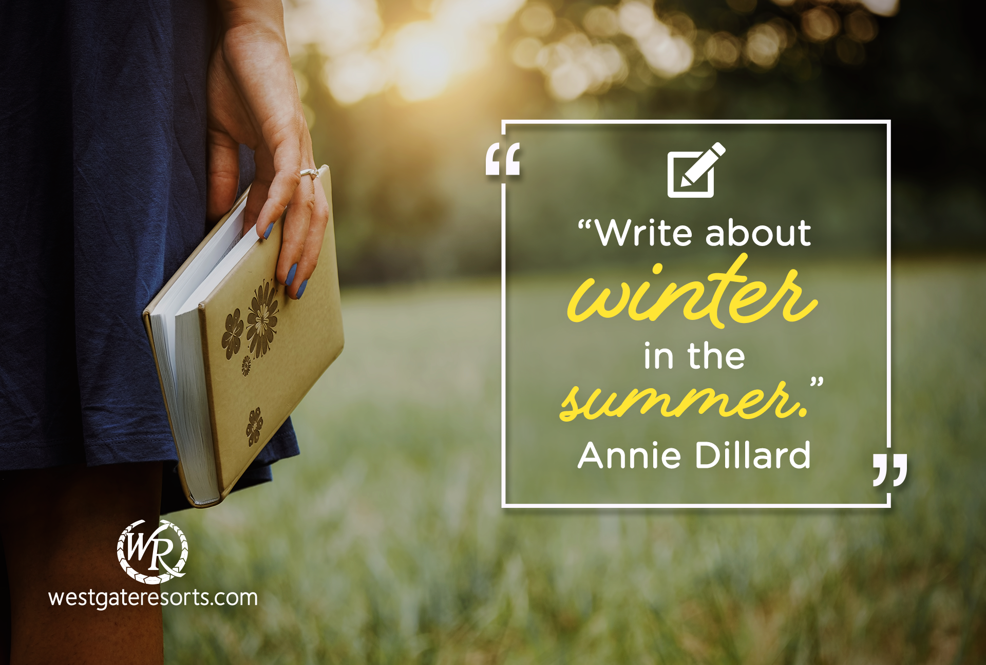 Write about winter in the summer | Travel Motivational Quotes | Summer Quotes