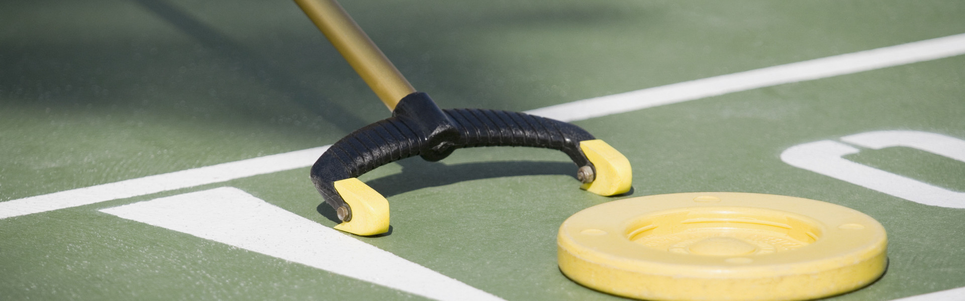 Playing shuffleboard at our resort in Orlando, FL | Westgate Lakes Resort & Spa