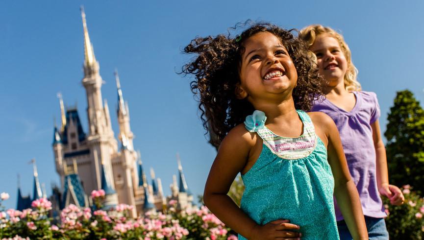 Kids having fun at Disney | Luxury Rooms & Suites Near Disney in Orlando Florida | Westgate Lakes Resort & Spa