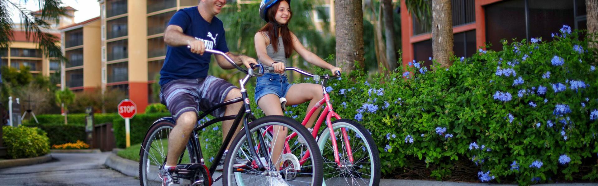 Hotel Bicycle Rental   Rent a Bike at Our Orlando Resort   Westgate Lakes Resort & Spa