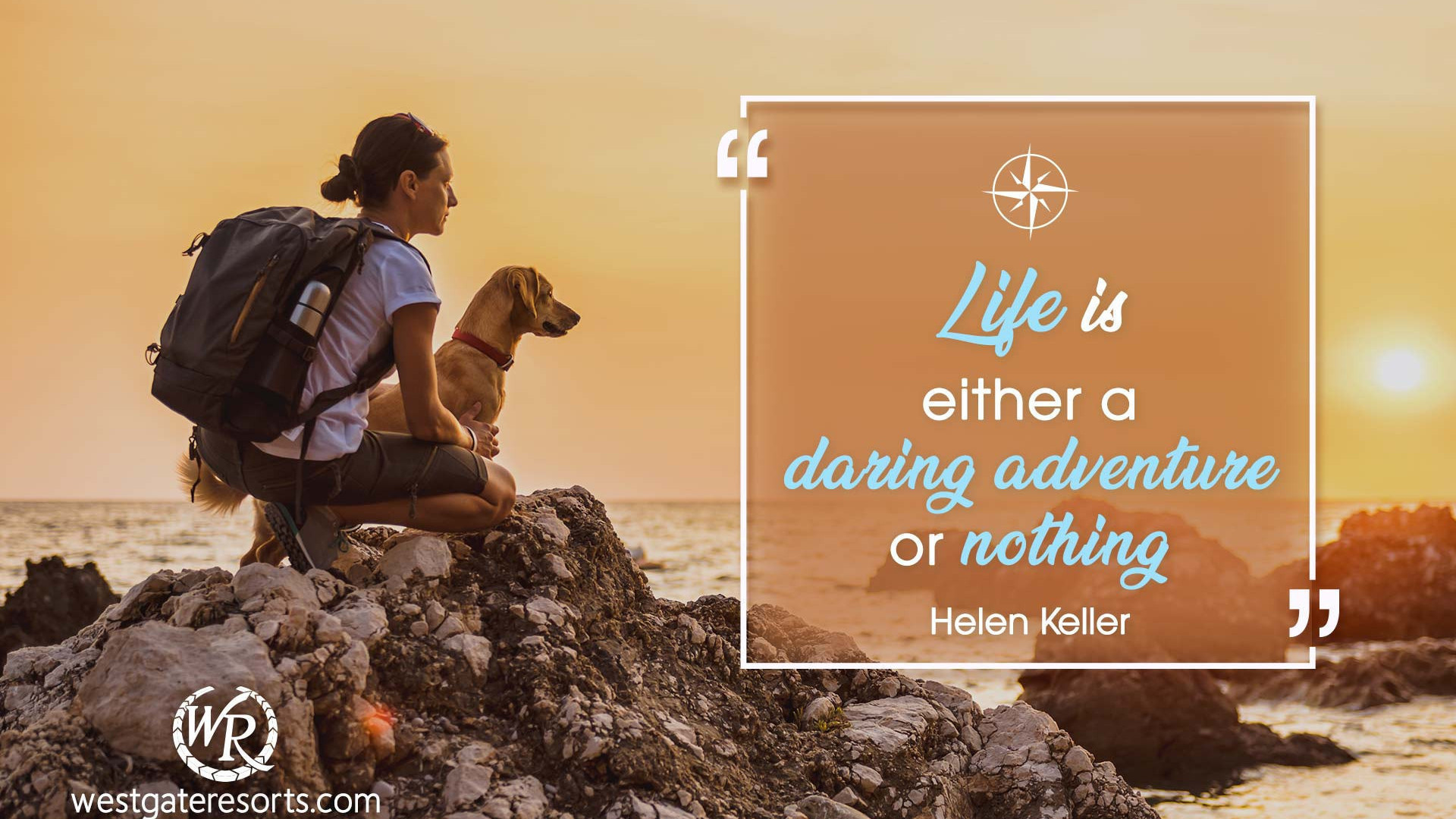 Life Is Either A Daring Adventure Or Nothing Quotes About Summer
