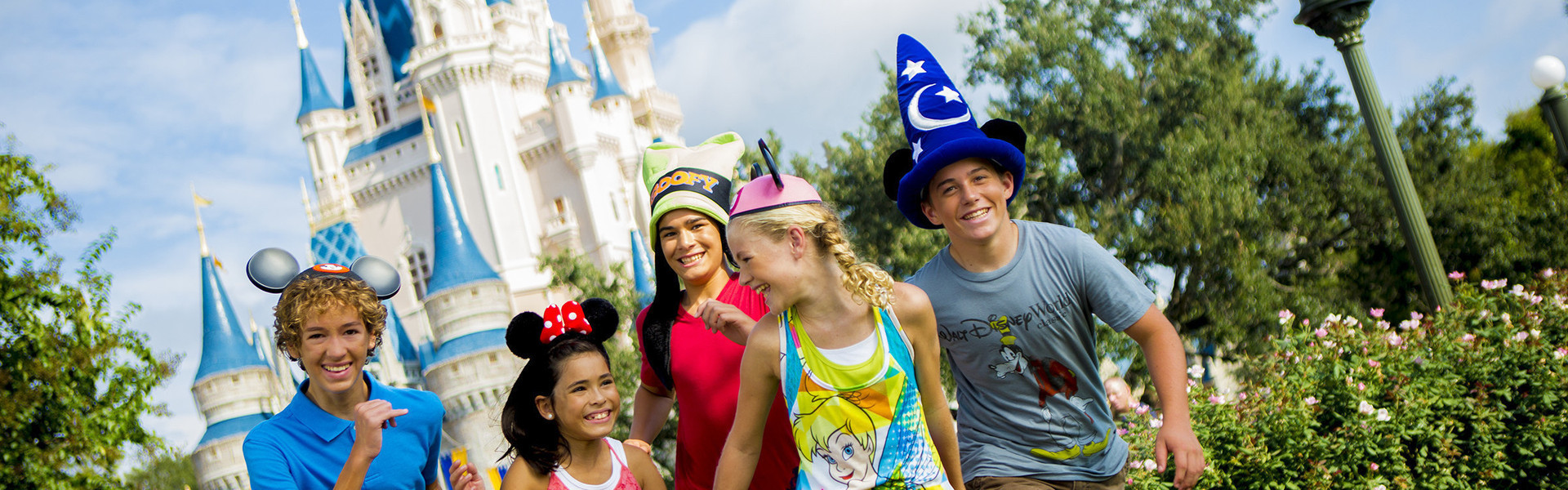 Kids after getting Orlando Florida Tickets & Orlando Attractions Tickets | Orlando Tickets on International Drive Near 32819 | Westgate Palace Resort