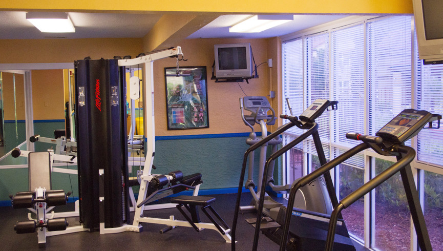 Fitness Room at our Lake Buena Vista Florida Resorts | Westgate Blue Tree Resort Lake Buena Vista | Resorts Near Sea World, Orlando, FL 32836