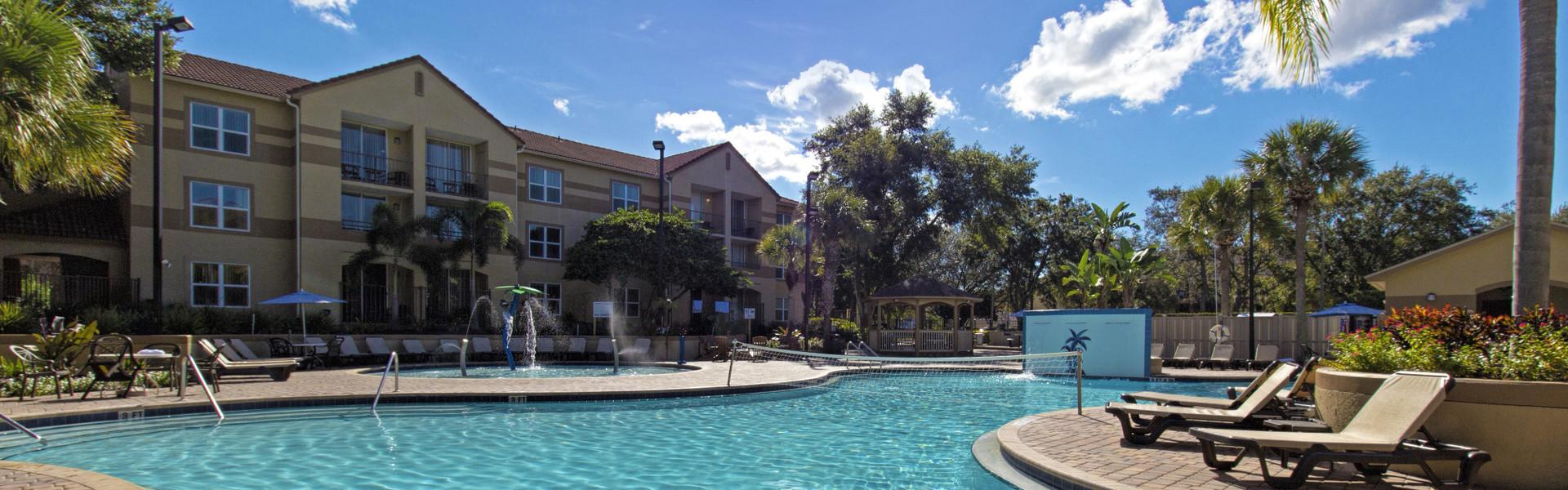Westgate Blue Tree Resort Overivew in Lake Buena Vista Florida | Resorts Near Sea World, FL 32836 | Lake Buena Vista Hotels