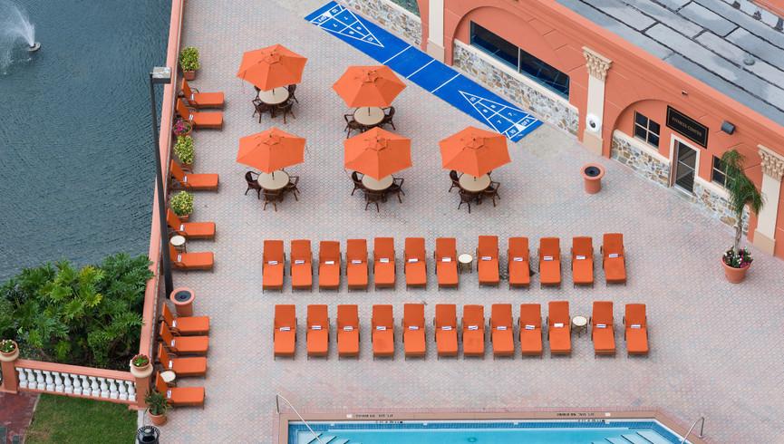 Arial Pics of Orlando Florida Hotels | Westgate Palace Orlando | Resorts Near International Drive, Orlando, FL 32819