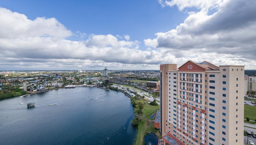 Drone Shots of Orlando Florida Resorts | Westgate Palace Orlando | Hotels Near International Drive, Orlando, FL 32819