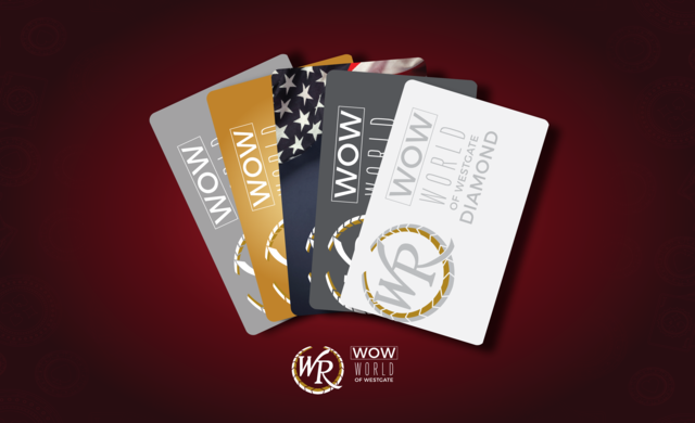 Celebrate 50 years of Legendary Vegas Fun with Westgate Las Vegas Resort & Casino by joining the WOW Rewards program - earn points and rewards!