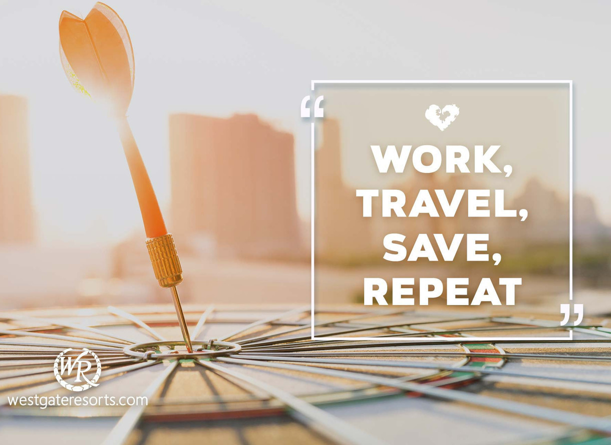Work Travel Save Repeat Travel Motivational Quotes