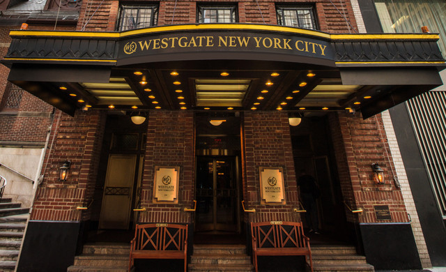 Outside our hotel Near Grand Central Terminal NYC | Westgate New York Grand Central Hotel