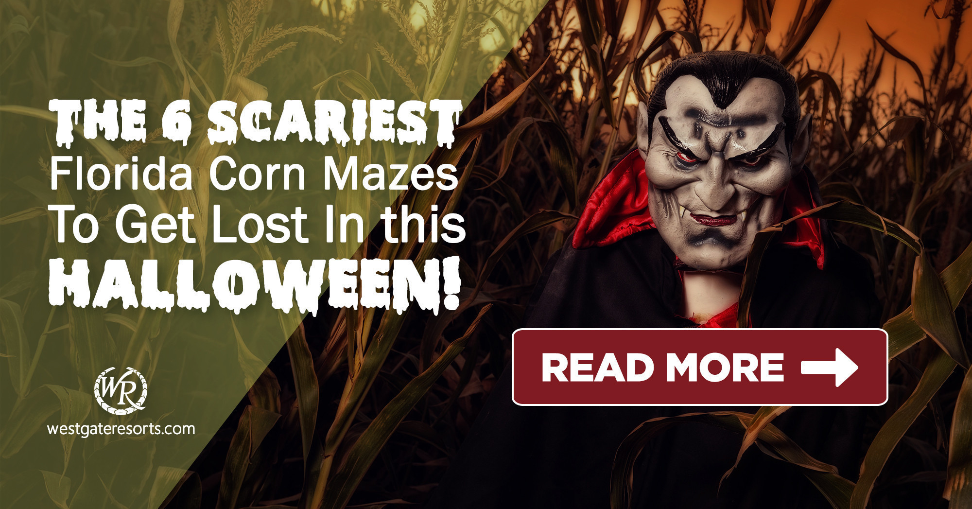 The 6 Scariest Florida Corn Mazes To Get Lost In This Halloween! | Florida Halloween Activities | Westgate Resorts