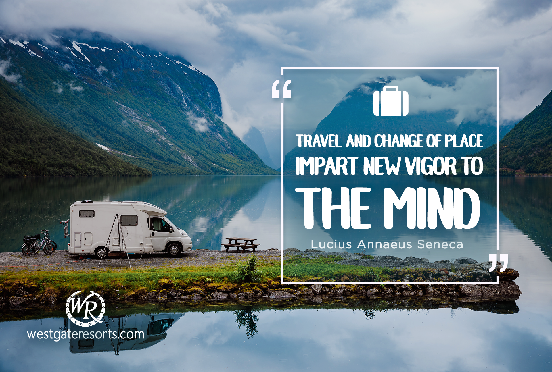 Travel and change of place impart new vigor to the mind | Quotes by Seneca | Travel Motivational Quotes