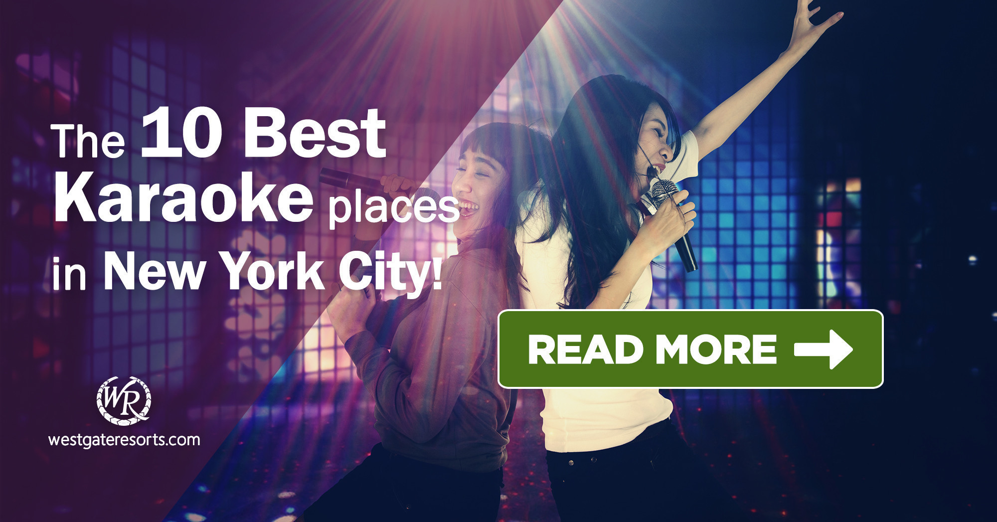 The 10 Best Karaoke Places in New York City | Manhattan Karaoke Guide | Westgate New York City