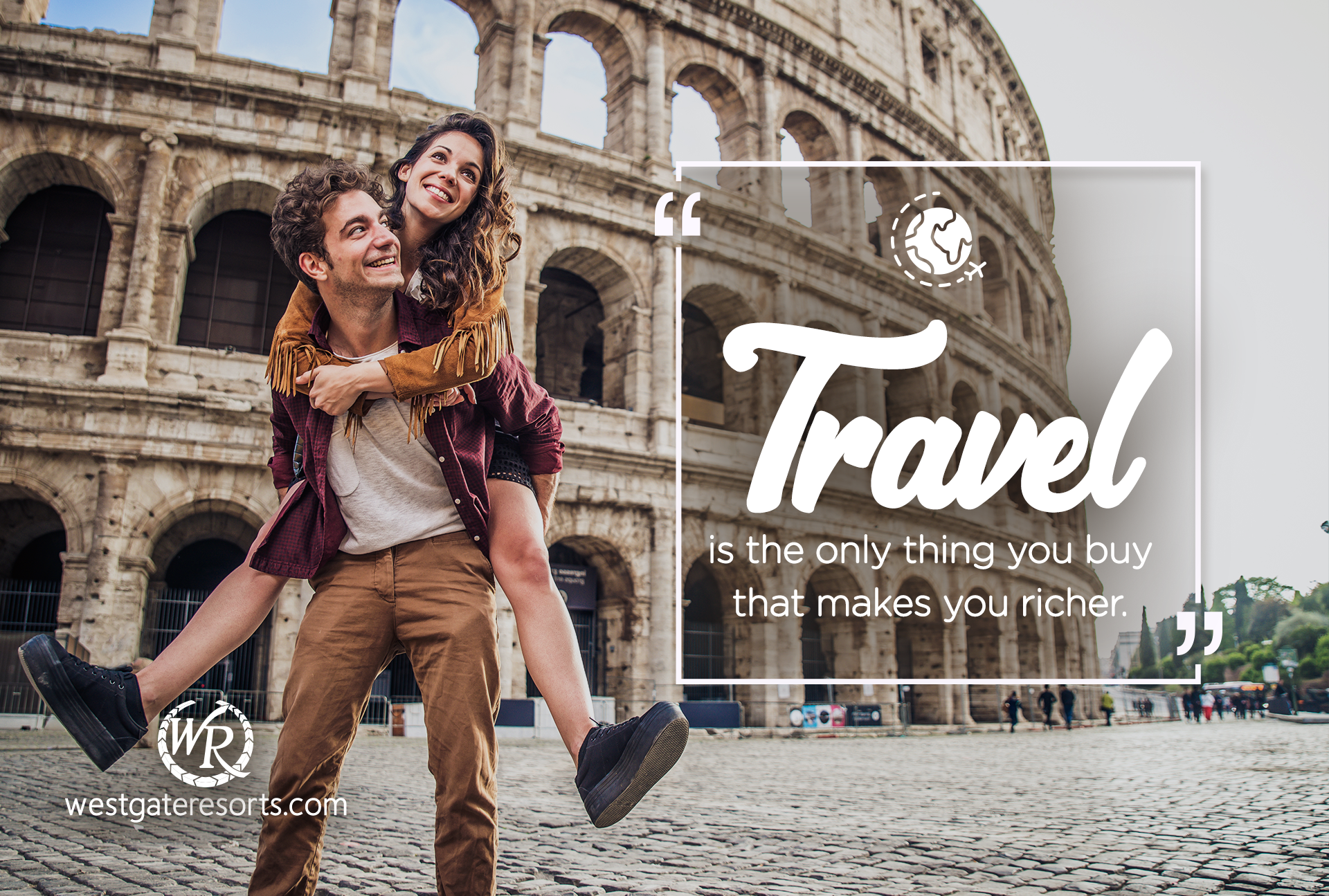 Travel is The Only Thing You Buy That Makes You Richer.   Travel Motivational Quotes   Quotes About Travel