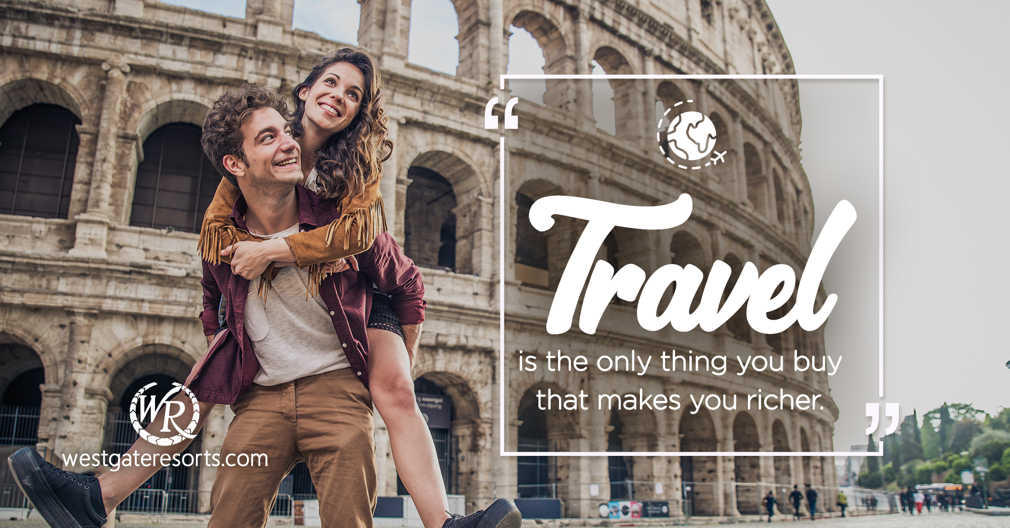 Travel is The Only Thing You Buy That Makes You Richer. | Travel Motivational Quotes