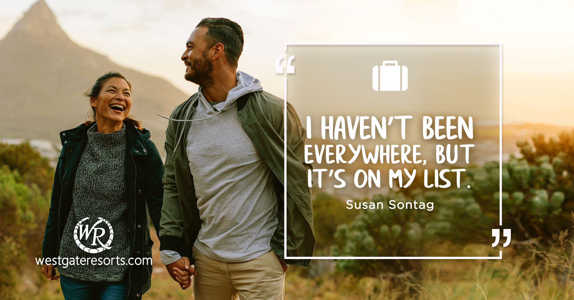 I Haven't Been Everywhere, But It's On My List. | Travel Motivational Quotes