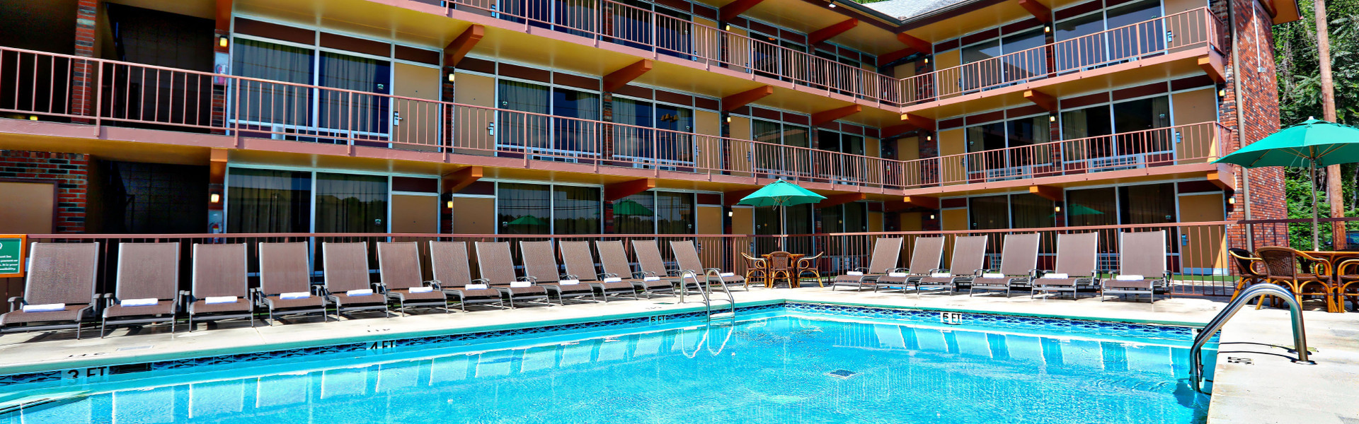 After an amazing day visiting Pigeon Forge and Gatlinburg, relax and unwind by the pool and treat yourself to some quiet time.