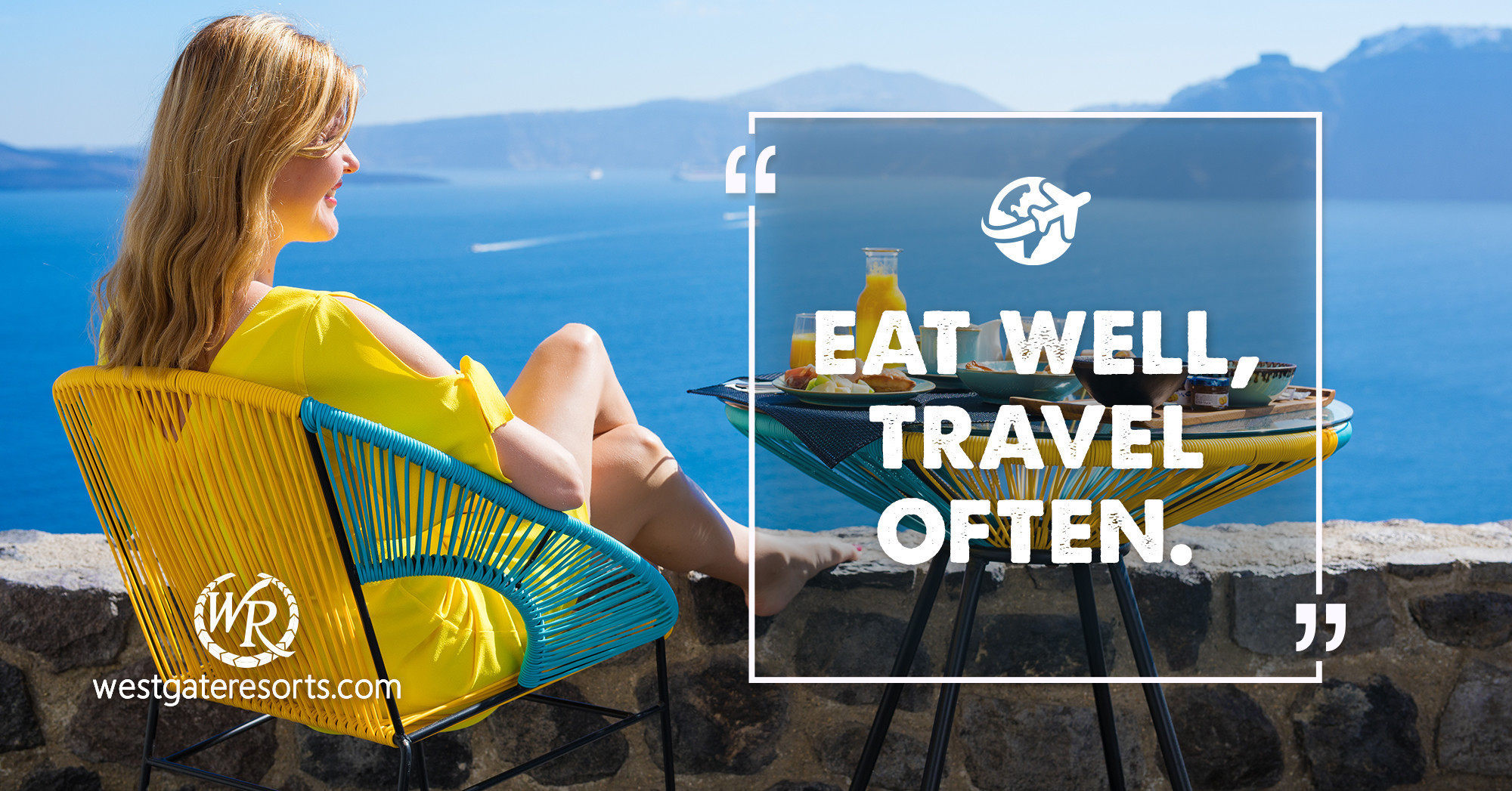 Eat Well, Travel Often. | Travel Motivational Quotes