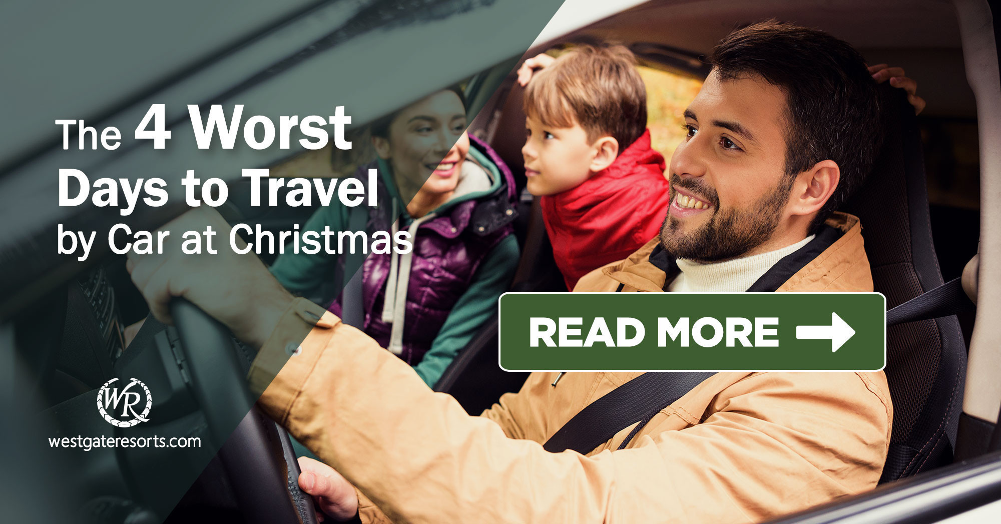 The 4 Worst Days to Travel by Car at Christmas | Westgate Resorts