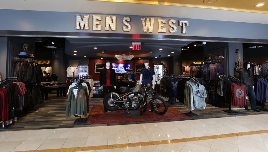 Comfortable Menswear Shopping in Distinctive Styles at Men's West at Westgate Las Vegas Resort & Casino