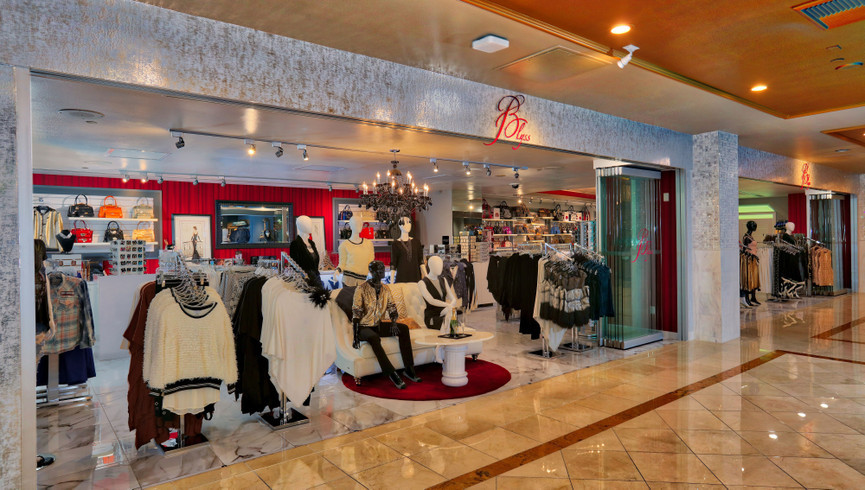 Stylish Ladies Apparel and Accessories Shopping at Blyss Accessories & Apparel | Westgate Las Vegas Resort & Casino