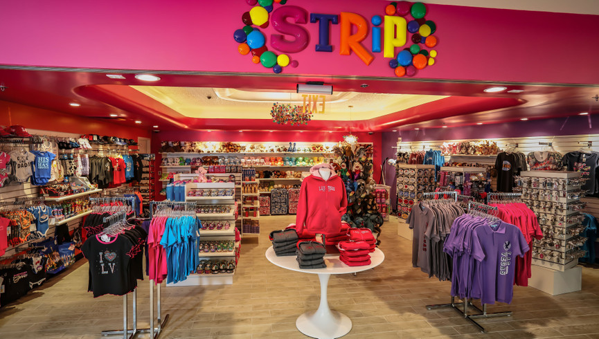 Las Vegas souvenirs, T-shirts and gifts along with a great selection of magnets, children's toys and plush at Strip | Westgate Las Vegas Resort & Casino