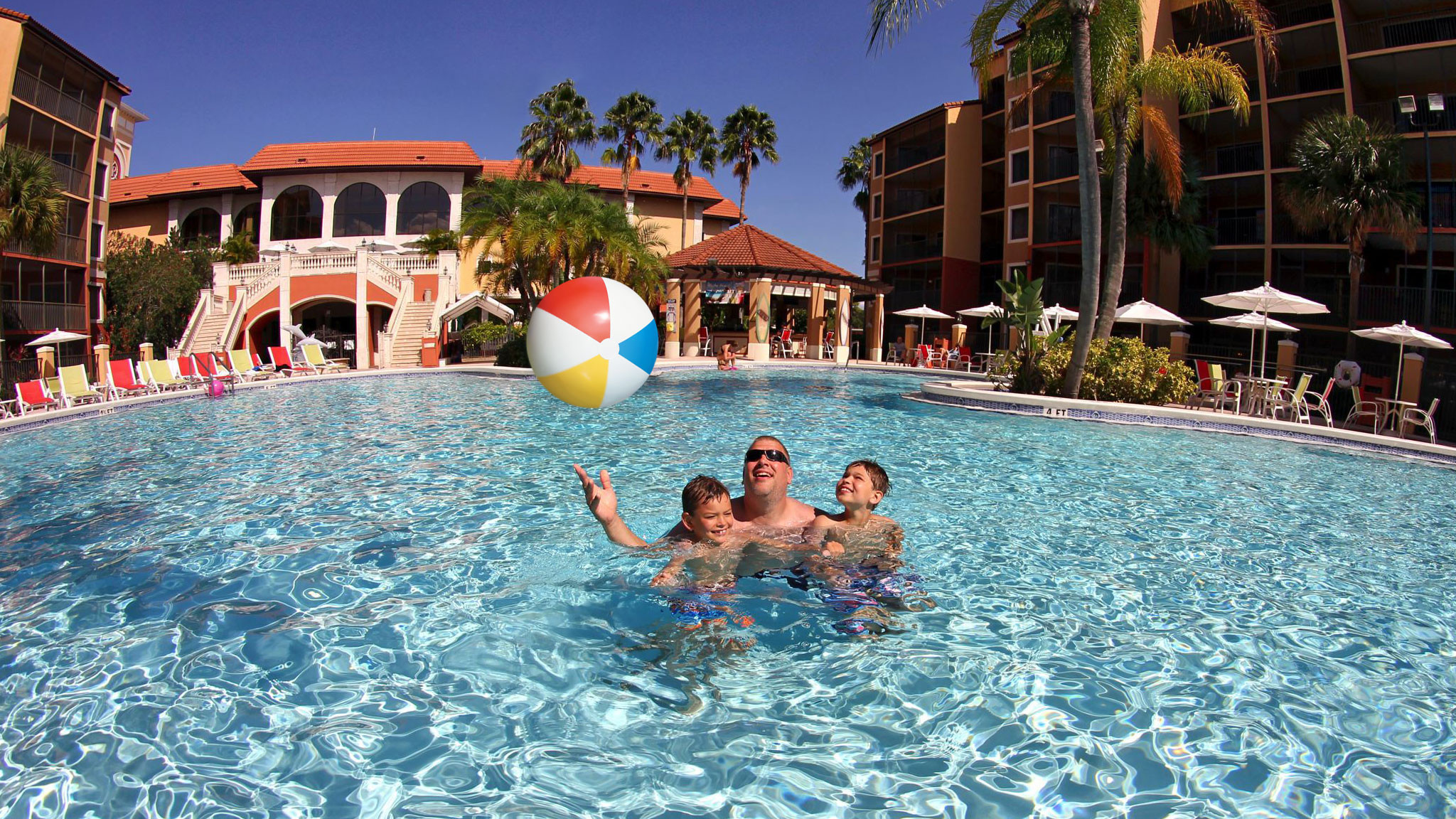 Family having fun at our resort near you! | Looking for a resort nearby? Experience Westgate Resorts! the best resort destination close to theme parks and major attractions!