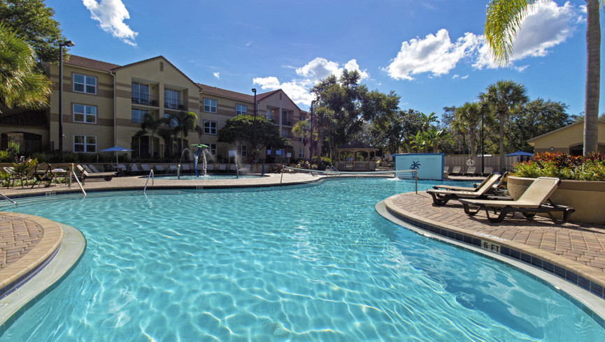 Westgate Blue Tree Resort has multiple outdoor heated pools for your ideal Orlando vacation getaway.