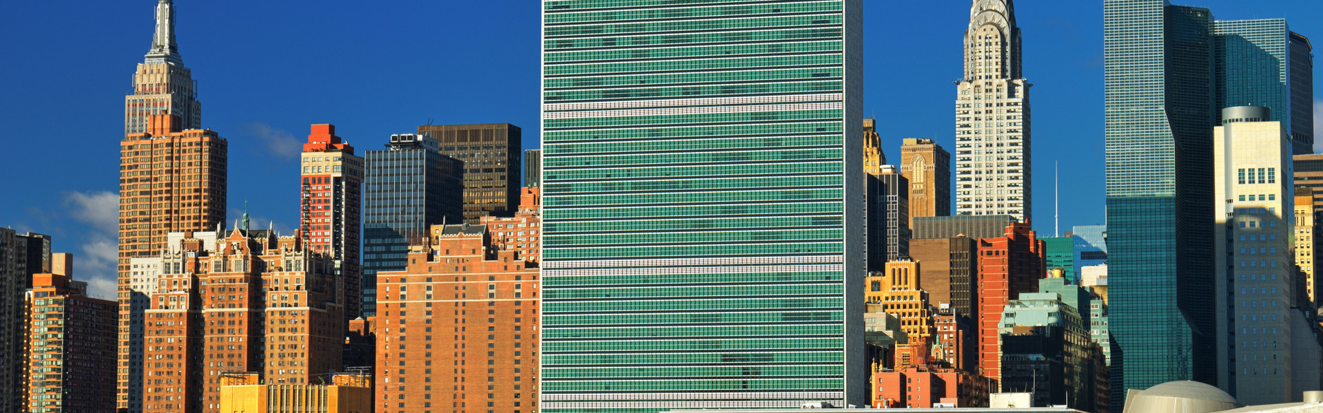 View From Water United Nations General Assembly Building | Hotel Room Blocks UNGA 2019 | Westgate New York City