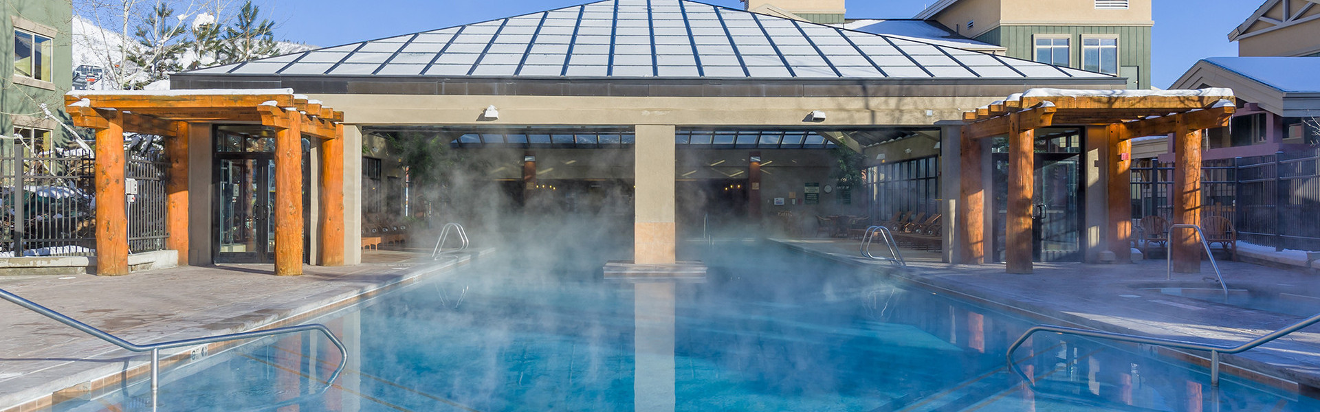 Indoor and Outdoor Heated Pools Whatever the season, you've got a reason to bring your bathing suit to Westgate Park City Resort & Spa with 2 indoor pools, 2 spa tubs, and a heated indoor/outdoor pool.