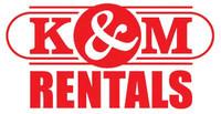 K&M Rentals.