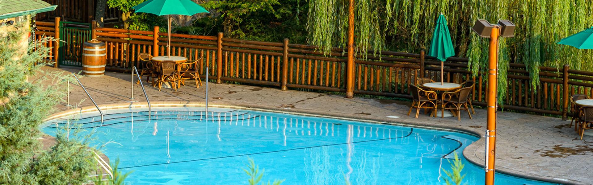 Heated Outdoor Pools and Spa Tubs Gatlinburg TN | Westgate Smoky Mountain Resort & Spa