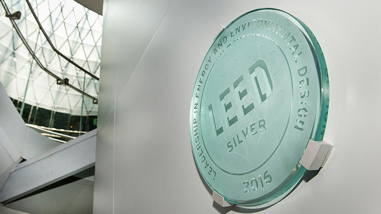 LEED Plaque at Green Hotel | 10 Ways You Can Travel Green, And Save Some Too! | Green Travel & Hotels at Westgate