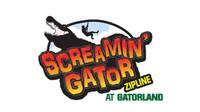 Screamin Gator Zip Line at Gatorland.
