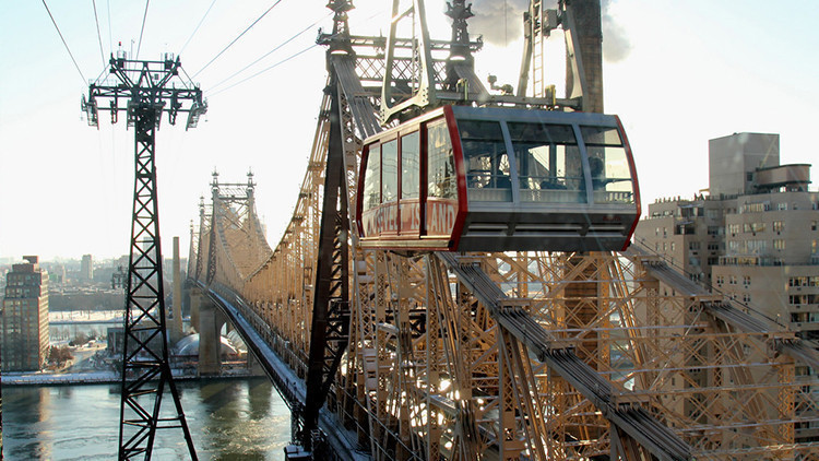 Roosevelt Island Tramway | The 10 Best Winter Activities for Toddlers NYC Has to Offer | Winter Activities in New York City