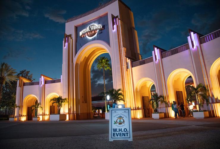 Universal Studios Florida W.H.O. Event
