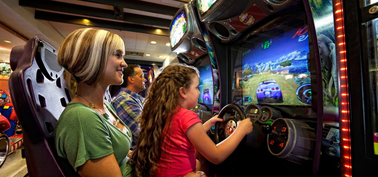 Enjoy a State of the Art Game Room at Westgate Lakes Resort & Spa