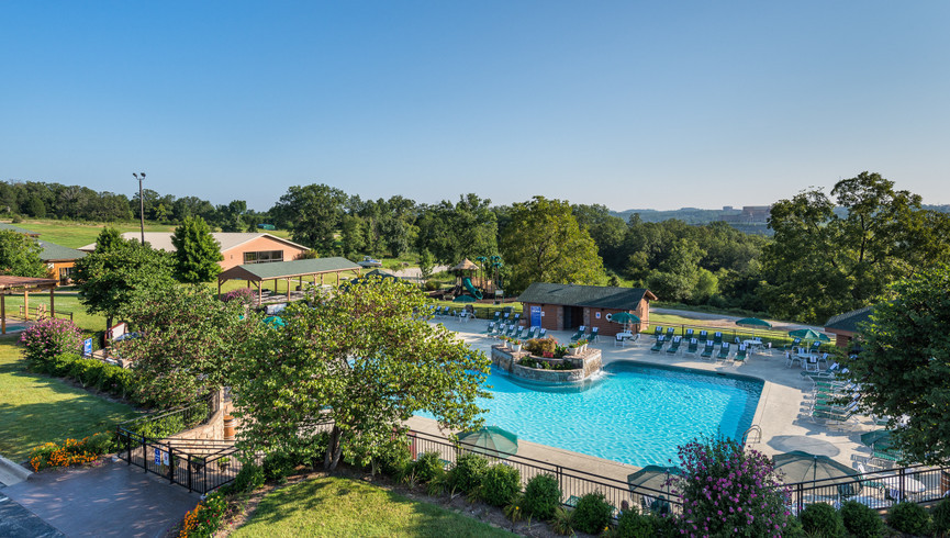 Area for one of our Branson Woods all inclusive resort wedding packages. | Westgtae Branson Woods Resort Weddings