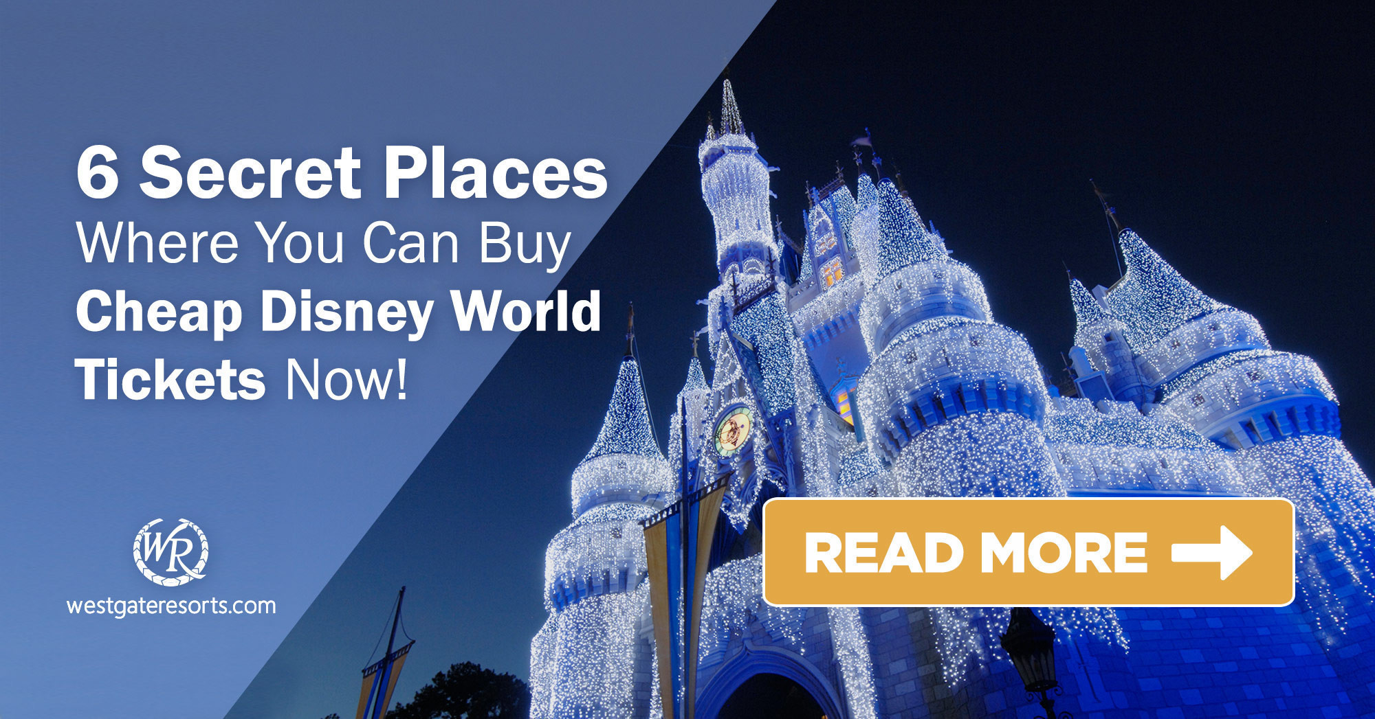 6 Secret Places Where You Can Buy Cheap Disney World Tickets Now!  | Affordable Disney Tickets